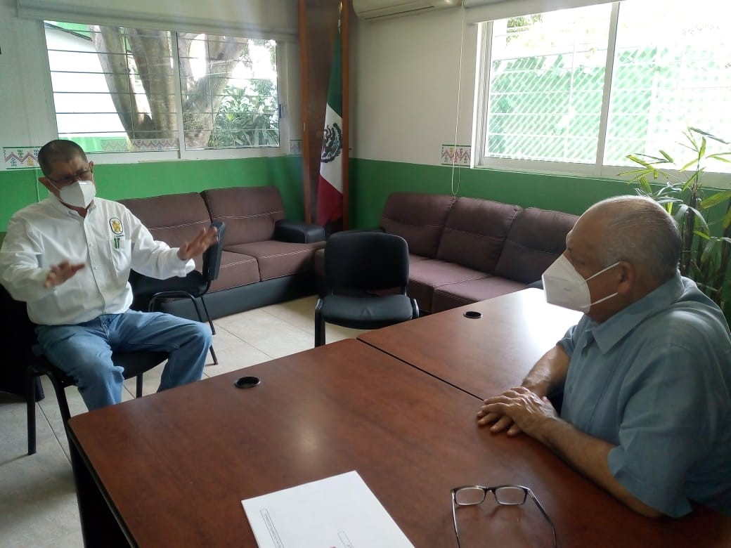 Reunión del Director General del CSAEGRO con el Secretario de la SAGADEGRO